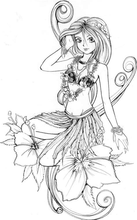 Happy Holiday Aloha Hawaii Coloring Pages   Womanmate.com