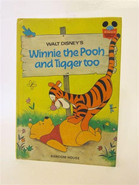 winnie the pooh picture book 1975 winnie the pooh and tigger children s picture