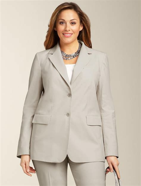 great places to buy womens plus size business suits for