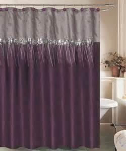 Purple Gray Curtains Gray Lucia Shower Curtain Gray Showers And Ps