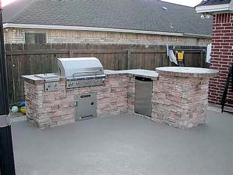 stacked outdoor kitchen outdoor living photos bryan college station pool builder