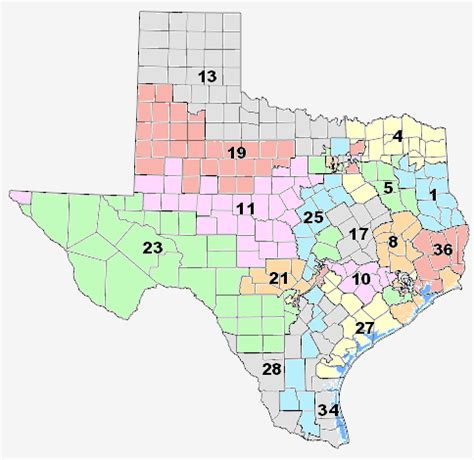 texas senate districts map 31 amazing texas congressional district map swimnova