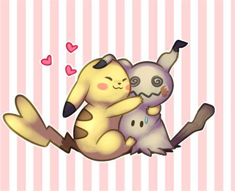 pug pikachu pikachu and mimikyu by pug pug on deviantart