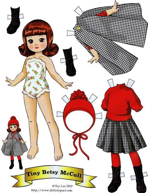 How To Fold Paper Dolls - folding tabs paper dolls by siyi paper dolls