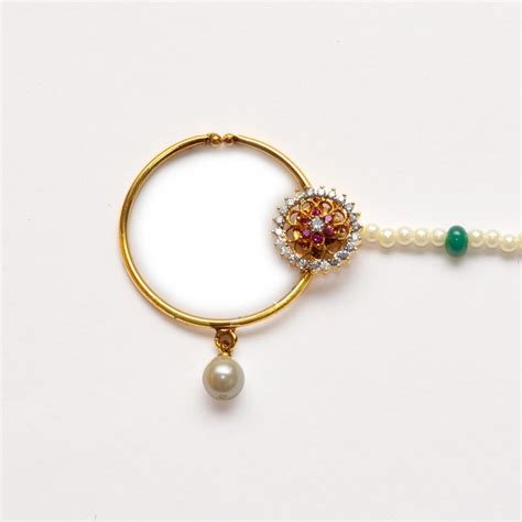 Best Gold Ring Design by Top 50 Best Beautiful Indian Designer Nose Rings Designs