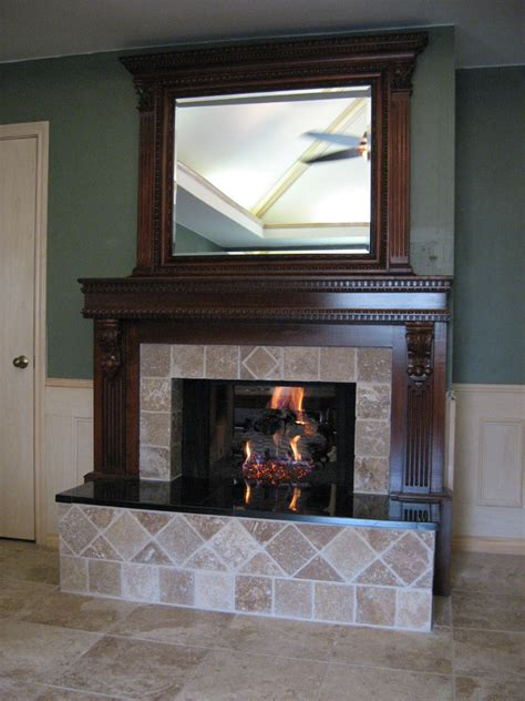 Using Fireplace by Decoration Decorate Fireplace Using Wall Mirror Ideas