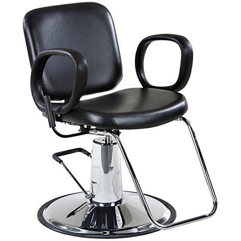 reclining salon styling chair quot lombard quot reclining salon styling chair round base ebay