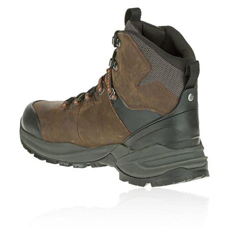 mens brown hiking boots merrell phaserbound mens brown waterproof walking hiking
