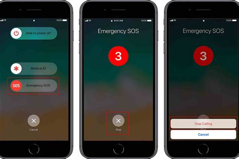 iphone emergency calls how to use apple sos