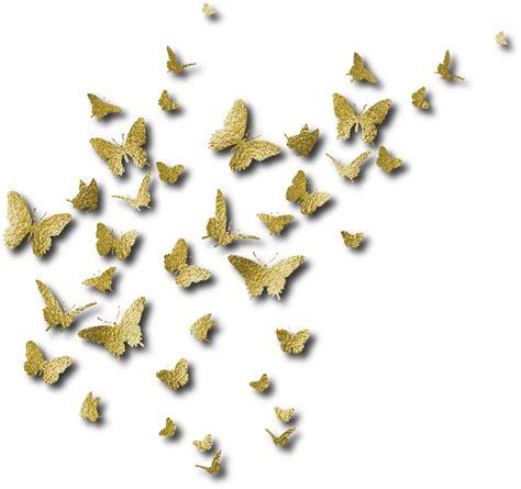 imagenes en png de mariposas zoom dise 209 o y fotografia 10 mariposas doradas decoradas