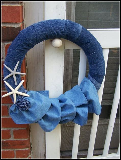 Denim Home Decor 17 Best Images About Denim Home Decor On Pinterest Ottoman Cover Rugby And Lshades