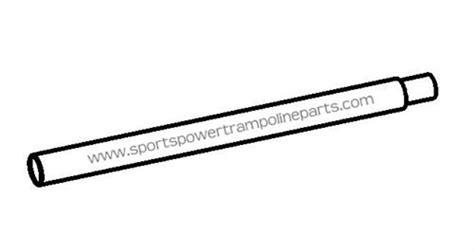 vertical leg extension for the 12 sportspower tr 126com