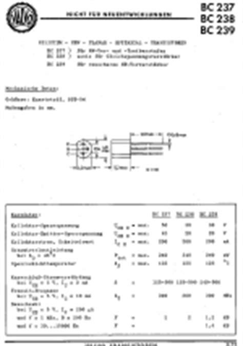 transistor bc548 datenblatt bc 238 bc238 r 246 hre bc 238 id35407 transistor