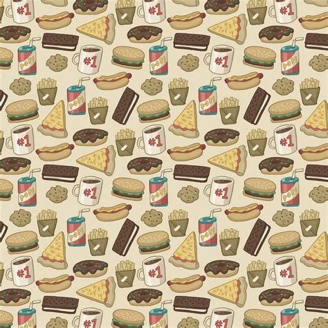 food pattern photography food pattern wallpaper tumblr pattern junk food by cup