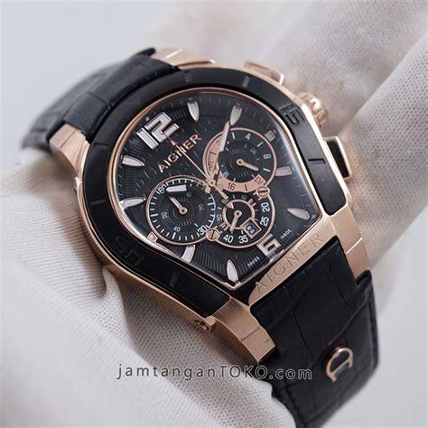 Jam Tangan Pria Aigner Chrono Active Black Rosegold V2 harga sarap jam tangan aigner palermo black gold chronograph 44mm kw a58500