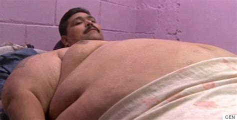 fattest in the world world s fattest andres moreno dies of attack on day
