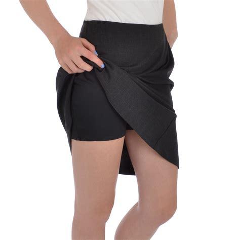 adidas adipure womens knee length golf skirt skort with