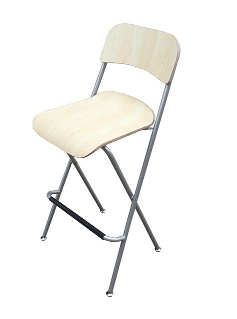 Metal Folding Bistro Chairs Bar Chair Bistro High Chair High Chair Wood Metal Chair Folding High Chair 2pk Ebay