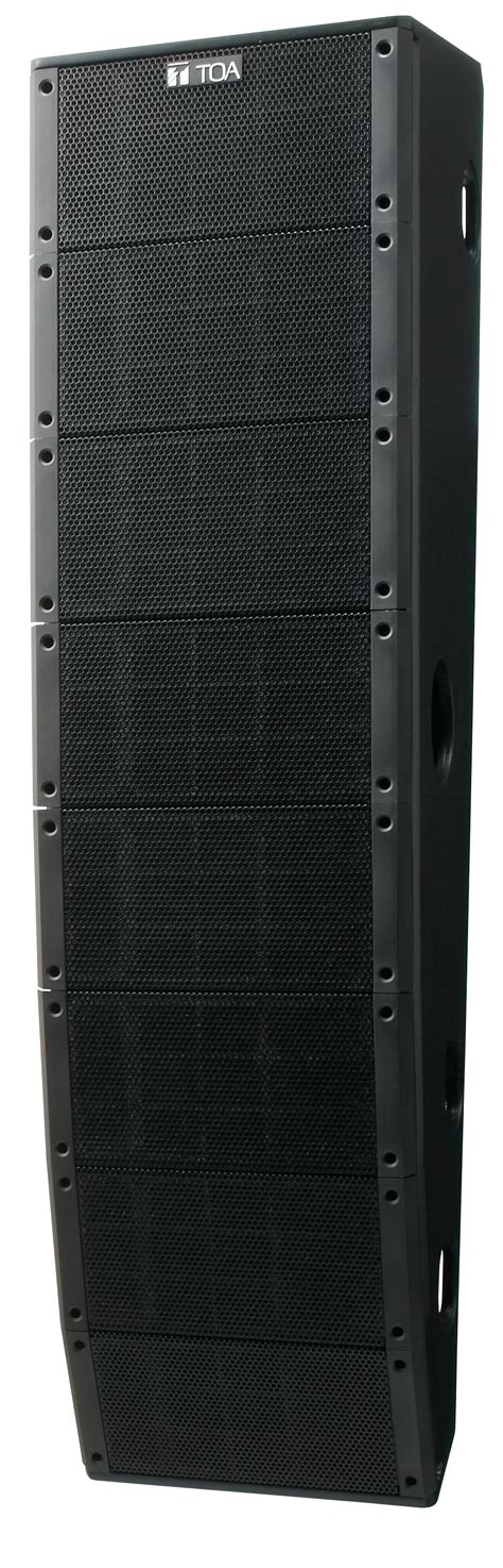 Speaker Toa Array pro audio speakers compact array speakers sr t5 line array speaker