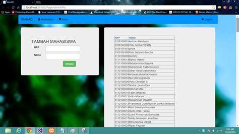 Membuat Website Dengan Asp Net | aplikasi web dengan asp net time line