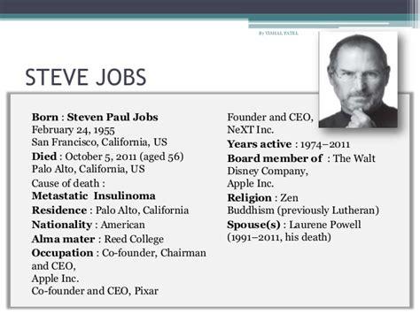biography of steve paul jobs steve jobs by isaacson