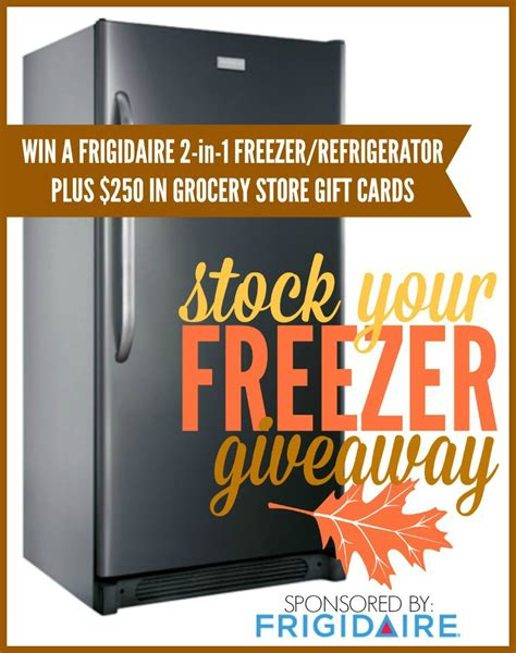Refrigerator Giveaway - kara s party ideas freezer refrigerator giveaway 250 in groceries to fill it