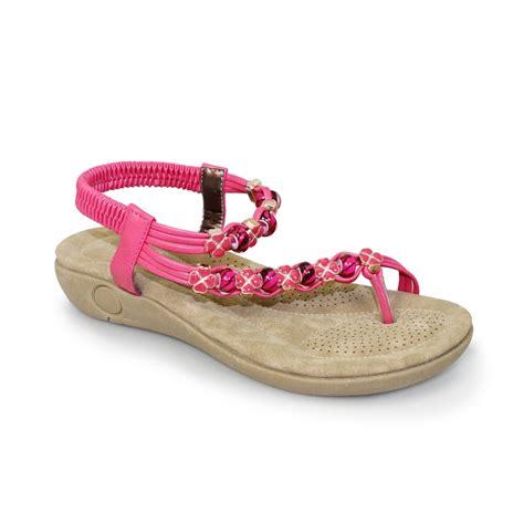 Top 10 Must Sandals by Lunar Essence Beaded Top Loop Sandal