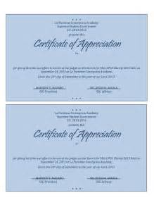 photo appreciation certificates wording images