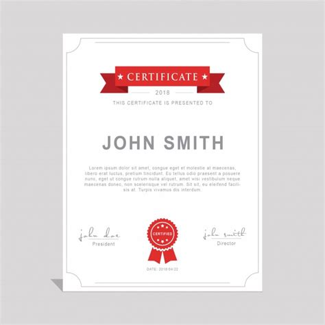 psd certificate template psd free download pikoff