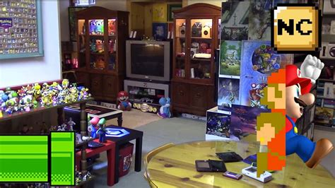 Nintendo Room by The Nintendo Room Tour 2015 Doovi