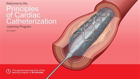 principles  cardiac catheterization adam ondemand