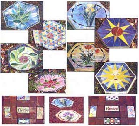 mosaic pattern books tiffany garden mosaic stained glass pattern book