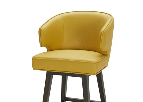 Bright Brown Stool by Bar Stool In Bright Yellow Leather Not Just Brown