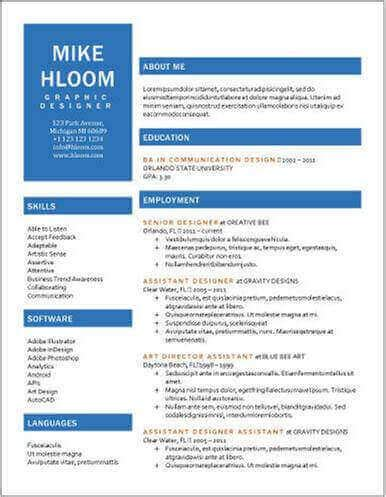 Sample Resume Of Marketing Executive by 50 Mejores Plantillas De Curriculum Vitae Gratis Para