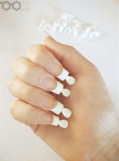 kiss nails tutorial review tutorial kiss brush on gel nail kit rouge geek