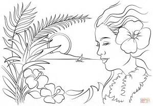 hawaii coloring pages beautiful hawaii coloring page free printable coloring pages