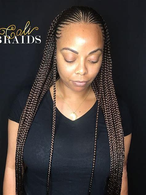 pin  kris  box braids hairstyles braids  black