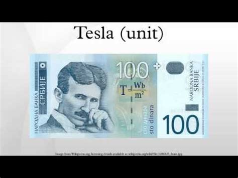 1 Tesla Is Equal To Tesla Unit