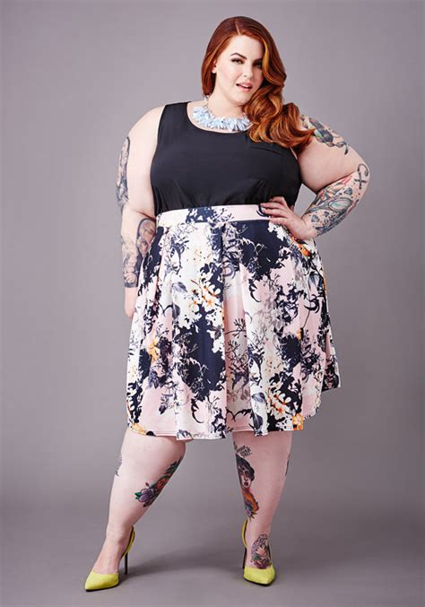 kleider modelle plus size model tess holliday on feeling and