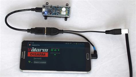 Usb Otg Power valarm y cable for valarm sensors samsung androids