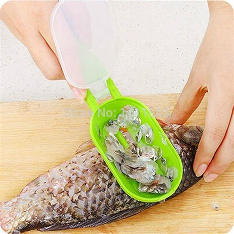 Pembersih Alat Makan alat pembersih sisik ikan 2 in 1 bersihkan ikan jadi