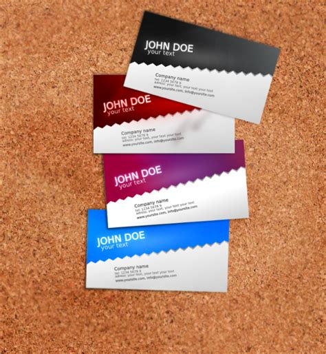 template business card svg adel design blog