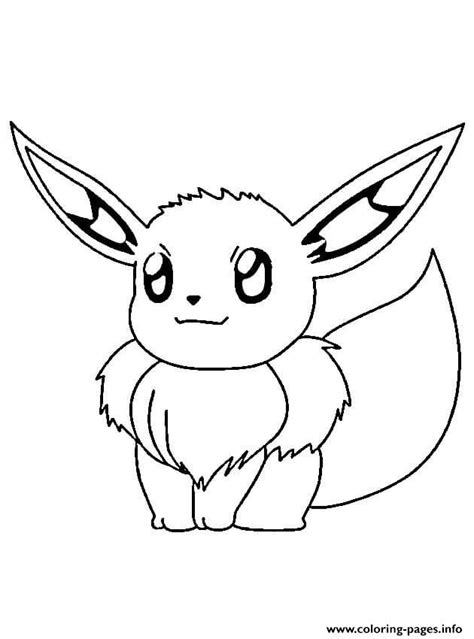 pokemon coloring pages swert evoli pokemon coloring pages printable