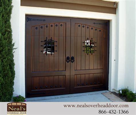 tuscan style custom garage doors designs  installation
