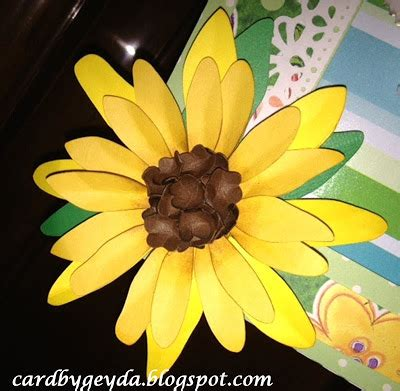 Box Tissue Flower 3d craft creations tissue box cover 3d flowers