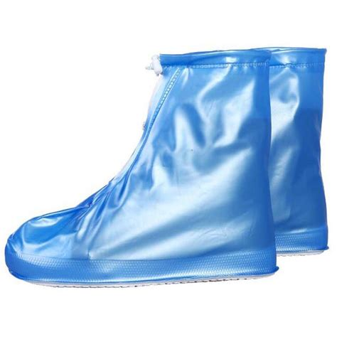 Oxford Motorcycle Waterproof Coat Jas Hujan cover hujan sepatu waterproof matte color size xl blue jakartanotebook