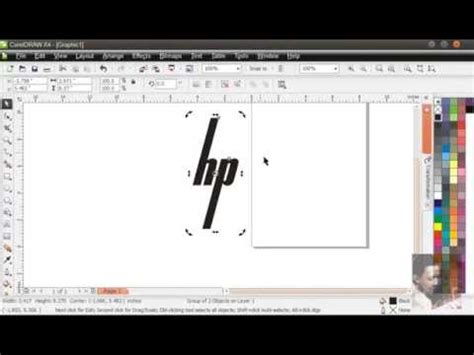 membuat logo hp membuat logo hp dengan coreldraw mp4 youtube