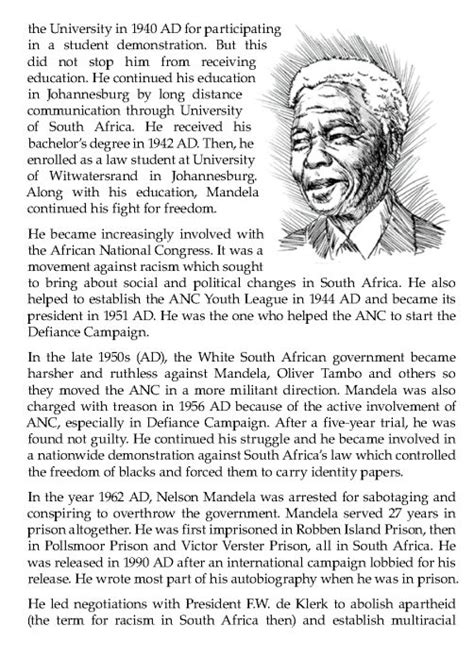 biography of nelson mandela for grade 6 235 best images about english literature grade 7 on