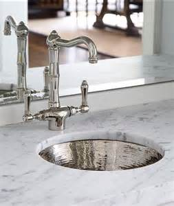 bar sink with faucet hammered metal bar sink with vintage faucet