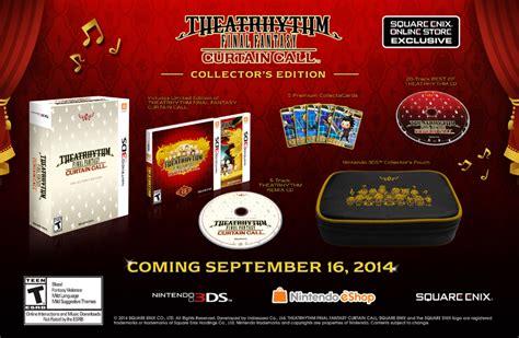 Kaset 3ds Theatrhythm Curtain Call theatrhythm curtain call release date
